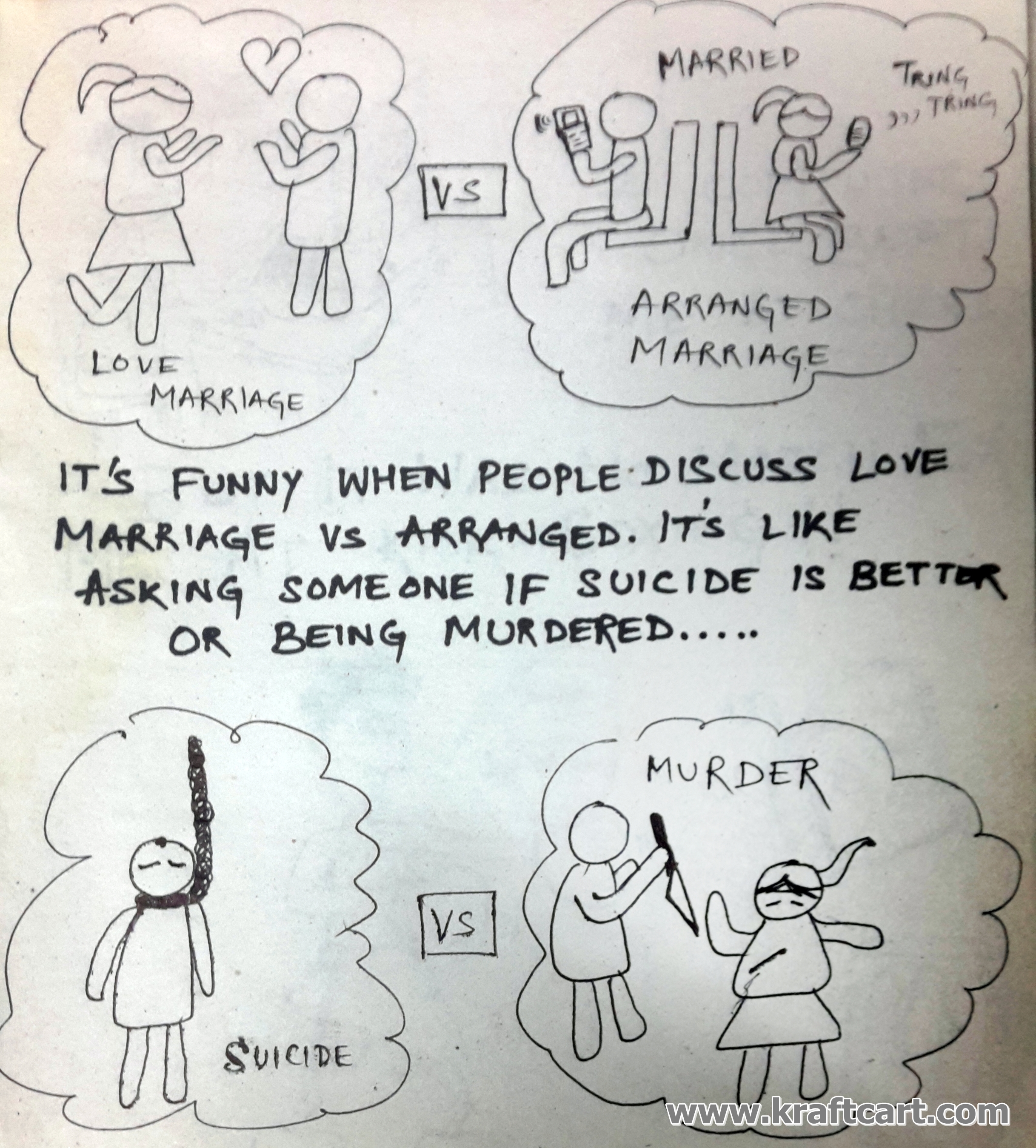 arrange marriage vs love marriage is there any difference